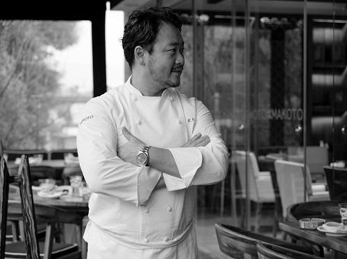 Chef Makoto Okuwa at Makoto