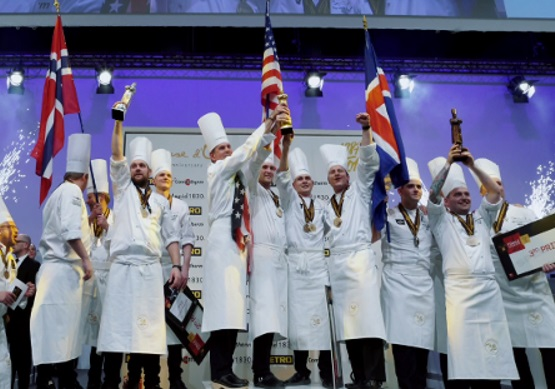 Bocuse d'Or 2017 winners