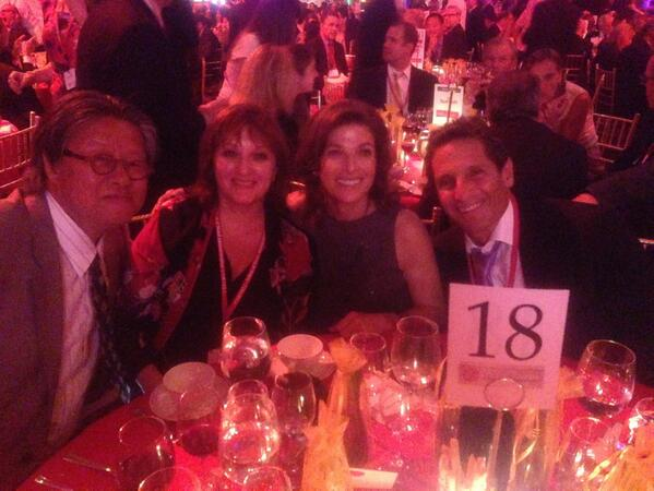 Sweet Street CEO Sandy Solmon with spouse Doug Messinger and Jimi and Ellen Yui