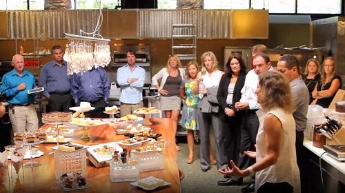Sweet Street CEO Sandy Solmon in R&D Kitchen