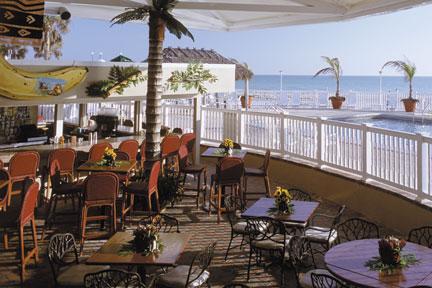 Colony Beach & Tennis Resort patio
