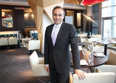 Ashok Bajaj of Knightsbridge Restaurant Group