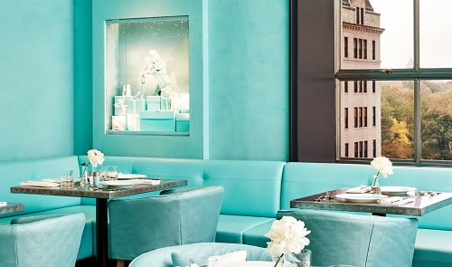 Blue Box Café, Tiffany & Co., NYC