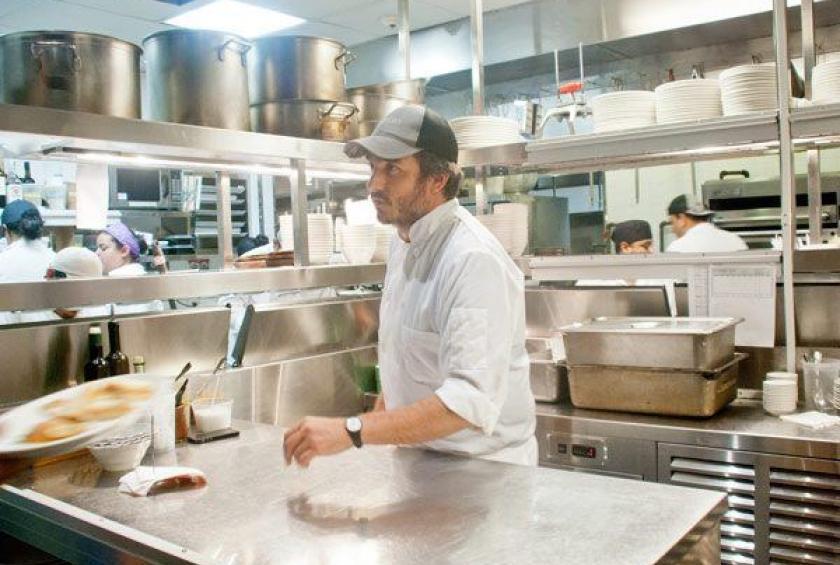 Chef Gabe Thompson at L'Apicio   Photo: Jane Bruce