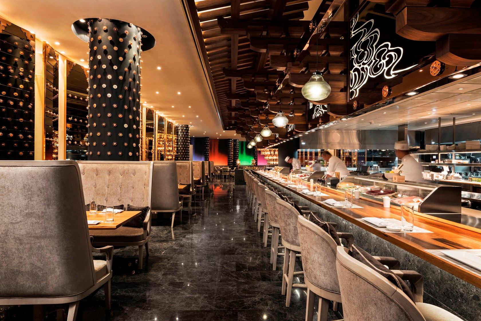 Morimoto Doha for Chef Masaharu Morimoto and Morgans Hotel Group
