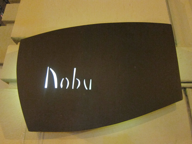 Nobu Tribeca sign