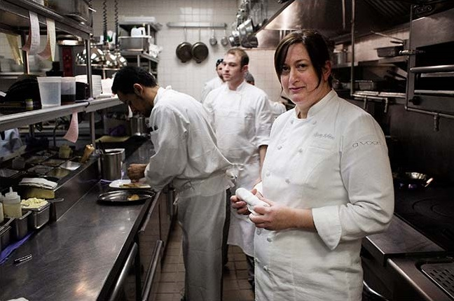 Chef Missy Robbins and team at A Voce   Photo: Christian Hansen