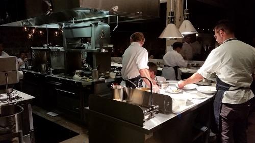 Chef Nicholas Stefanelli and team at Masseria
