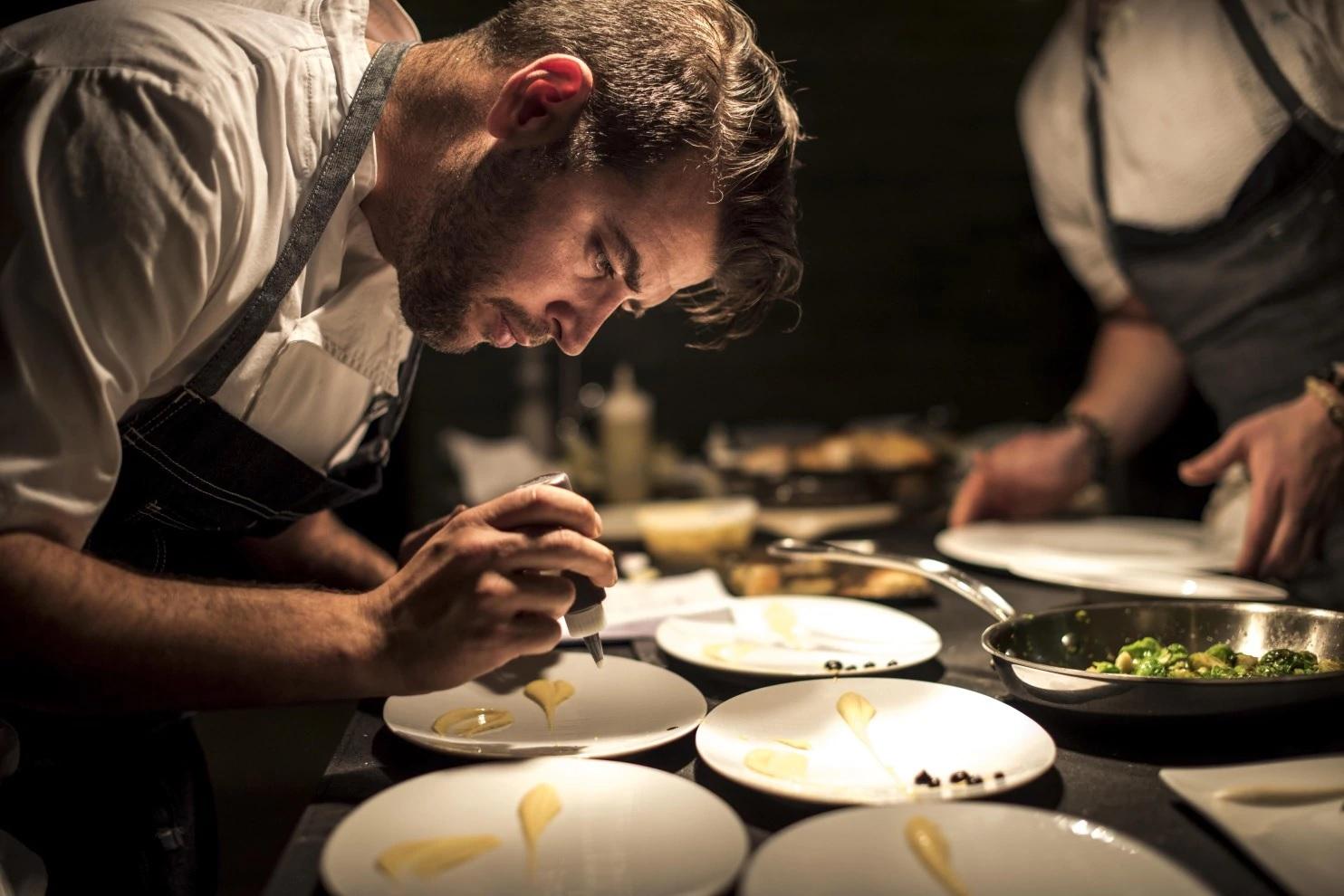 Chef Nicholas Stefanelli at Masseria   Photo: Melina Mara