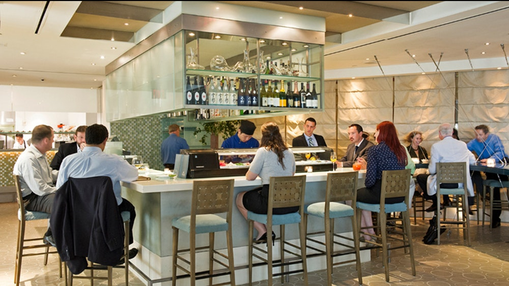 The Sea Grill in Rockefeller Center, NYC for Patina Restaurant Group