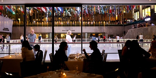 The Sea Grill in Rockefeller Center, NYC