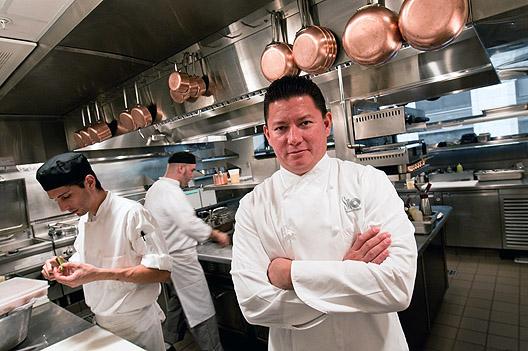 SHO Shaun Hergatt in The Setai Wall Street in NYC for Chef Shaun Hergatt