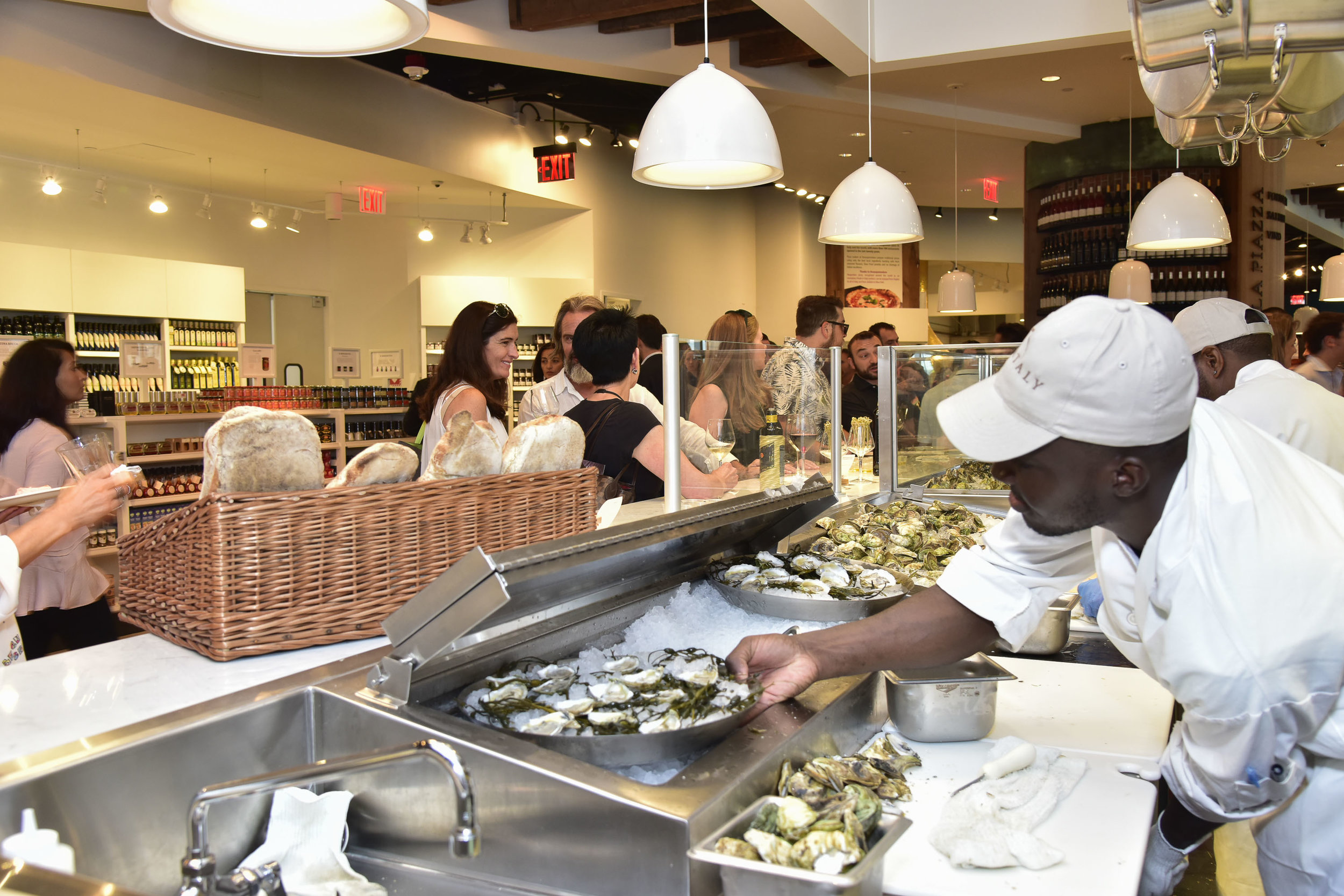 Eataly NYC Downtown for Eataly and B&B Hospitality Group
