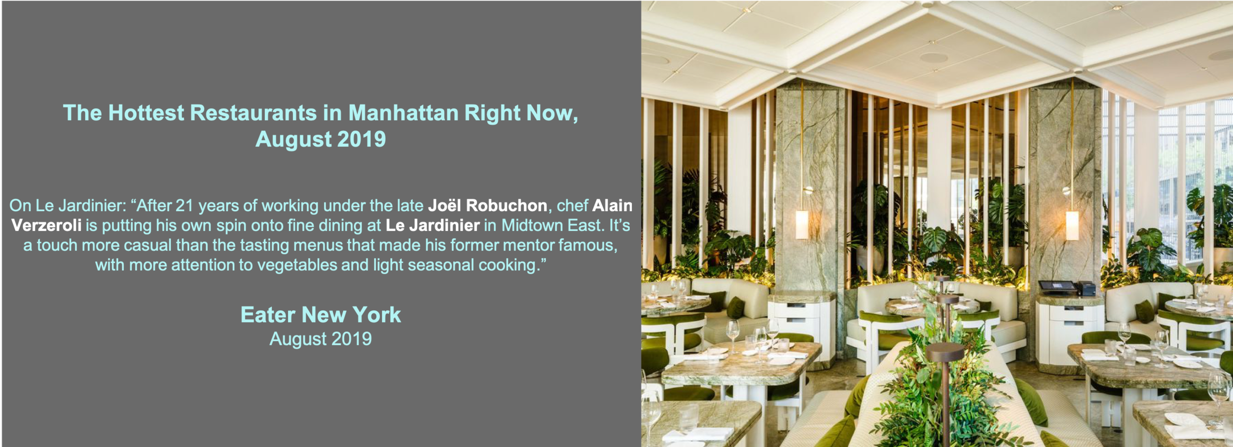 Eater NY August 1 2019 Le Jardinier.png