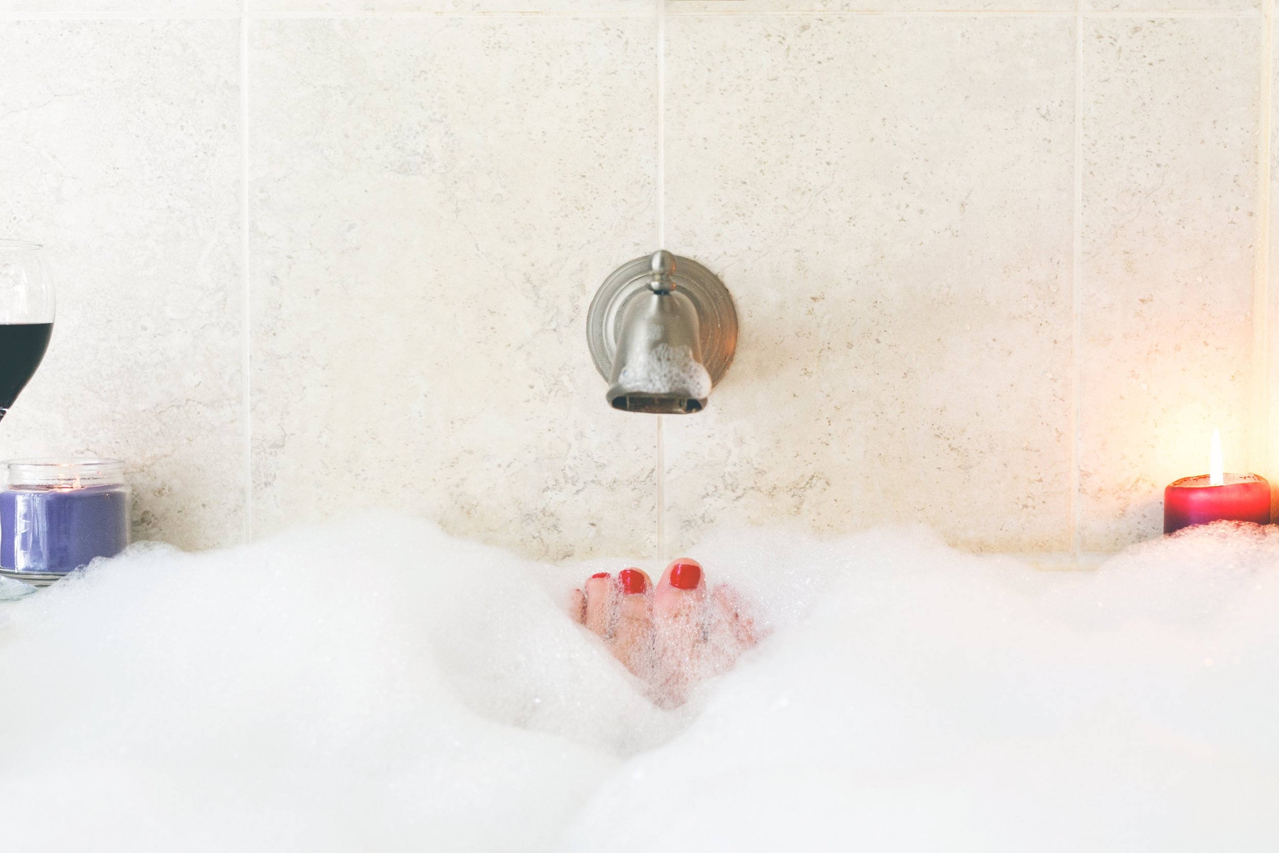 Bubble baths and other scented products are not recommended and may make vaginal dryness worse.