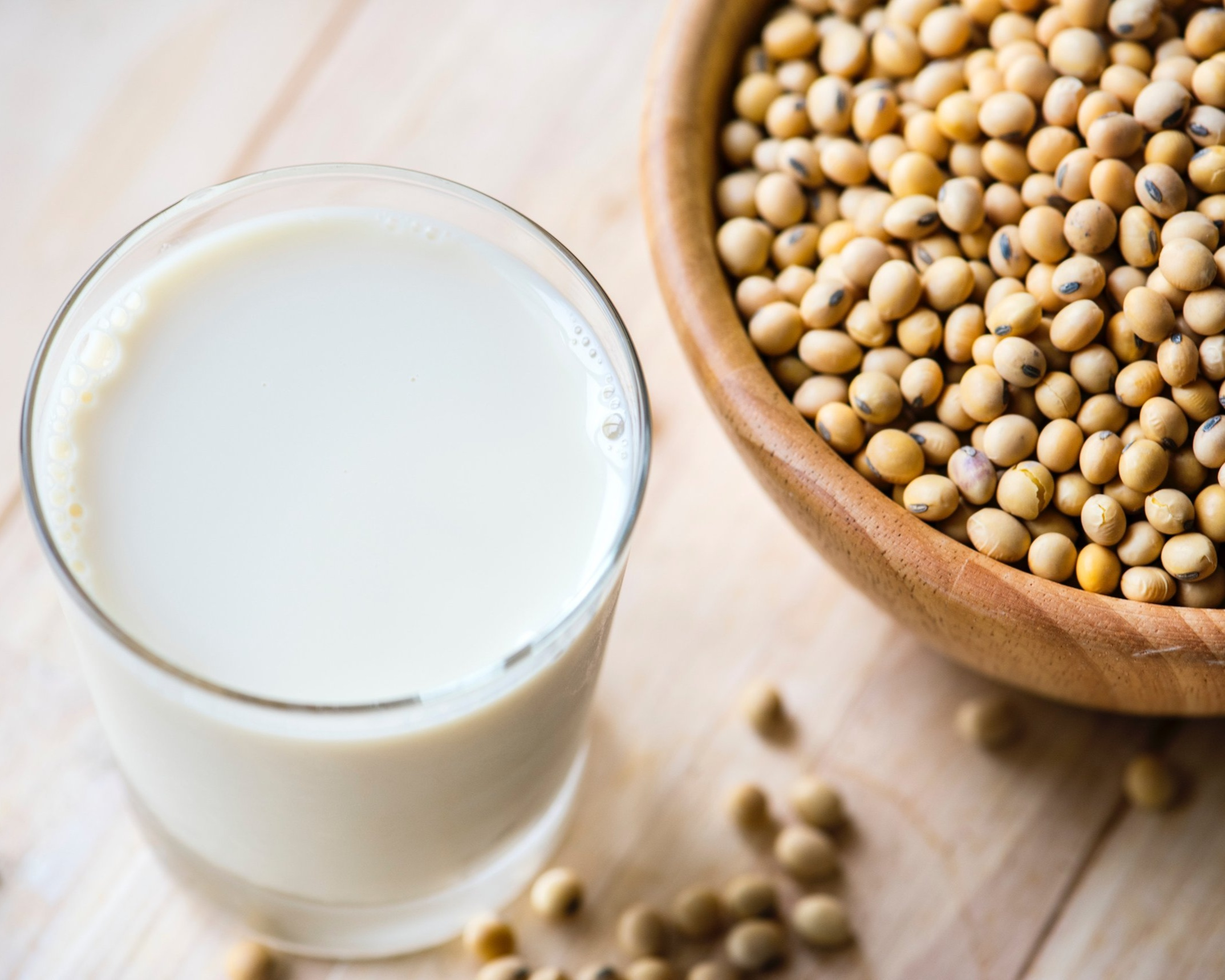Fun fact : soymilk is said to be invented in China over 2,000 years ago!