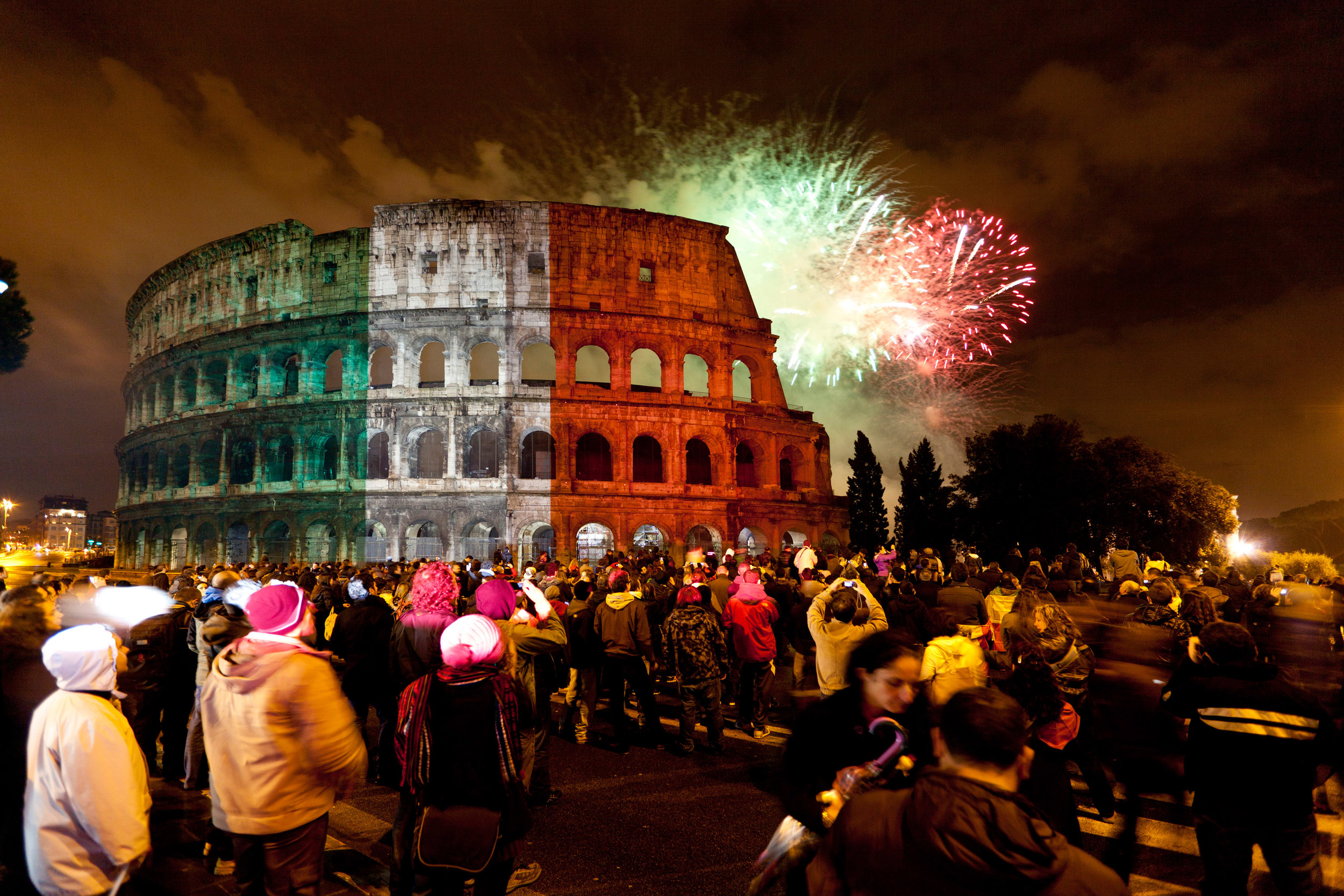 COLOSSEUM – ROME, ITALY