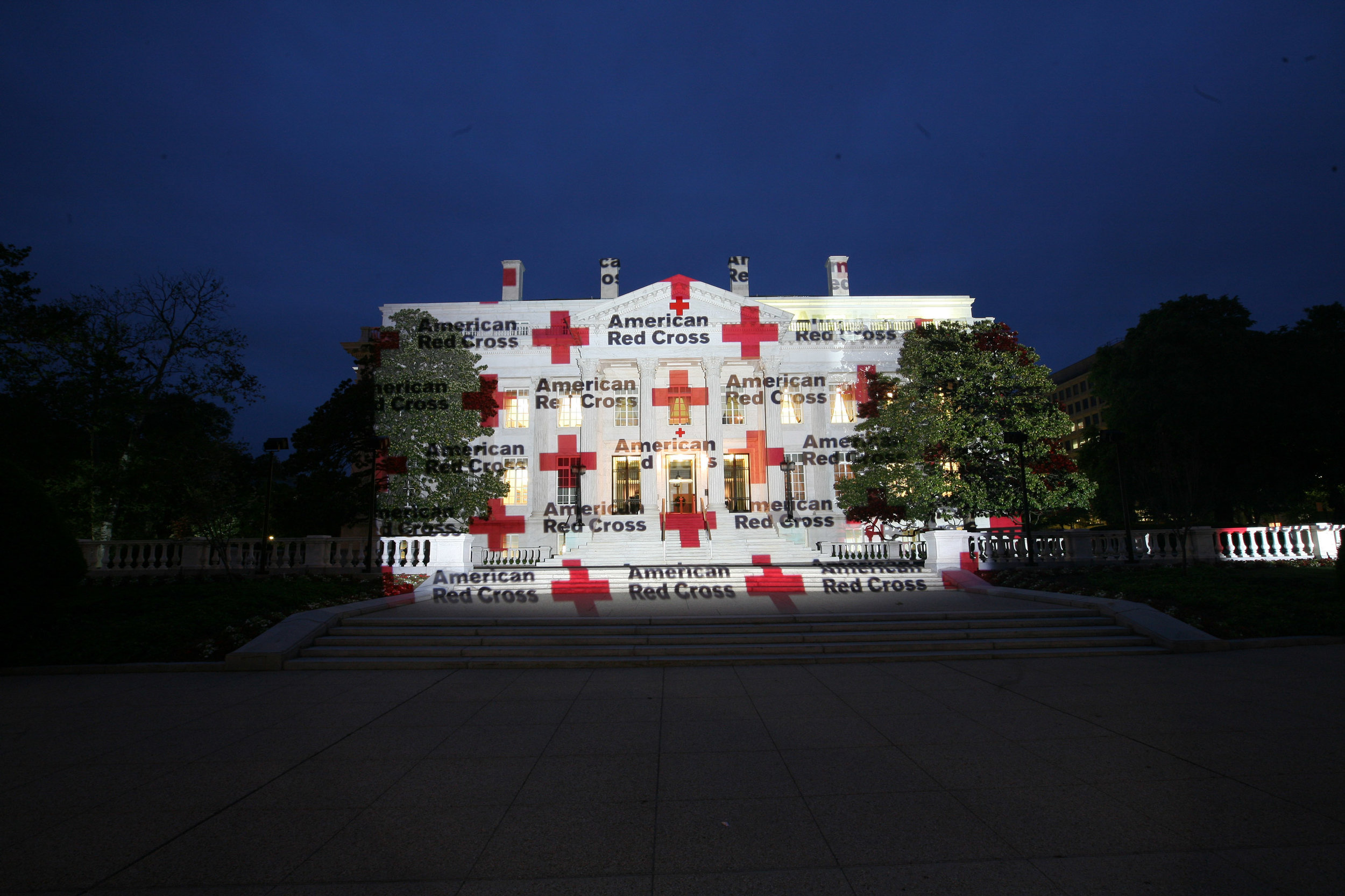 WASHINGTON HQ OF RED CROSS AMERICA