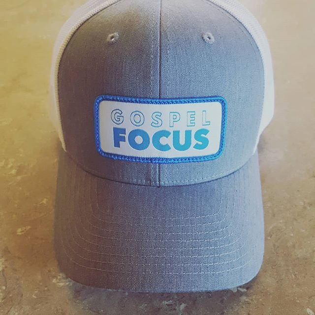 Hats are in. Looking forward to promoting the ministry and striking up gospel conversations with it. Contact us if you'd like one!