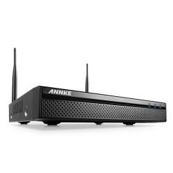 ANNKE WIFI NVR    Med en upplösning på 1080P, H264 samt inbyggd wifi accesspunkt erbjuder denna NVR ett enkelt trådlöst kamerasystem för det mindre kontoret eller butiken, enheten levereras med tillgång till mobil app.