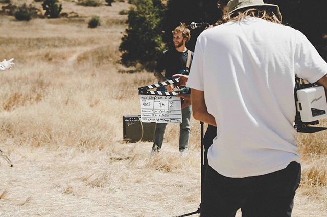 "BTS of @thestorysofarca video for ""upside down"" directed by @dancentrone • Malibu, Ca"