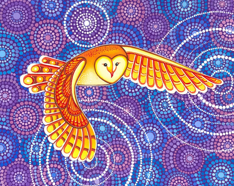 Owl Pulsating Magic