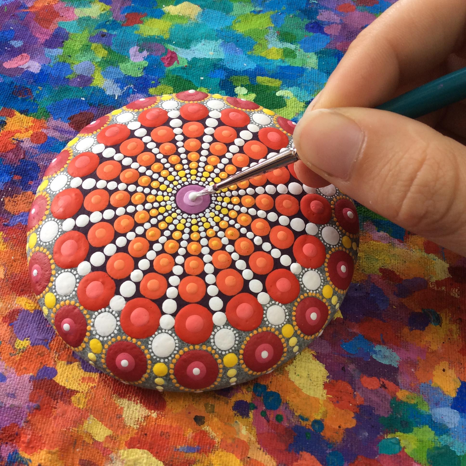 Mandala Stone Design   Elspeth Mclean