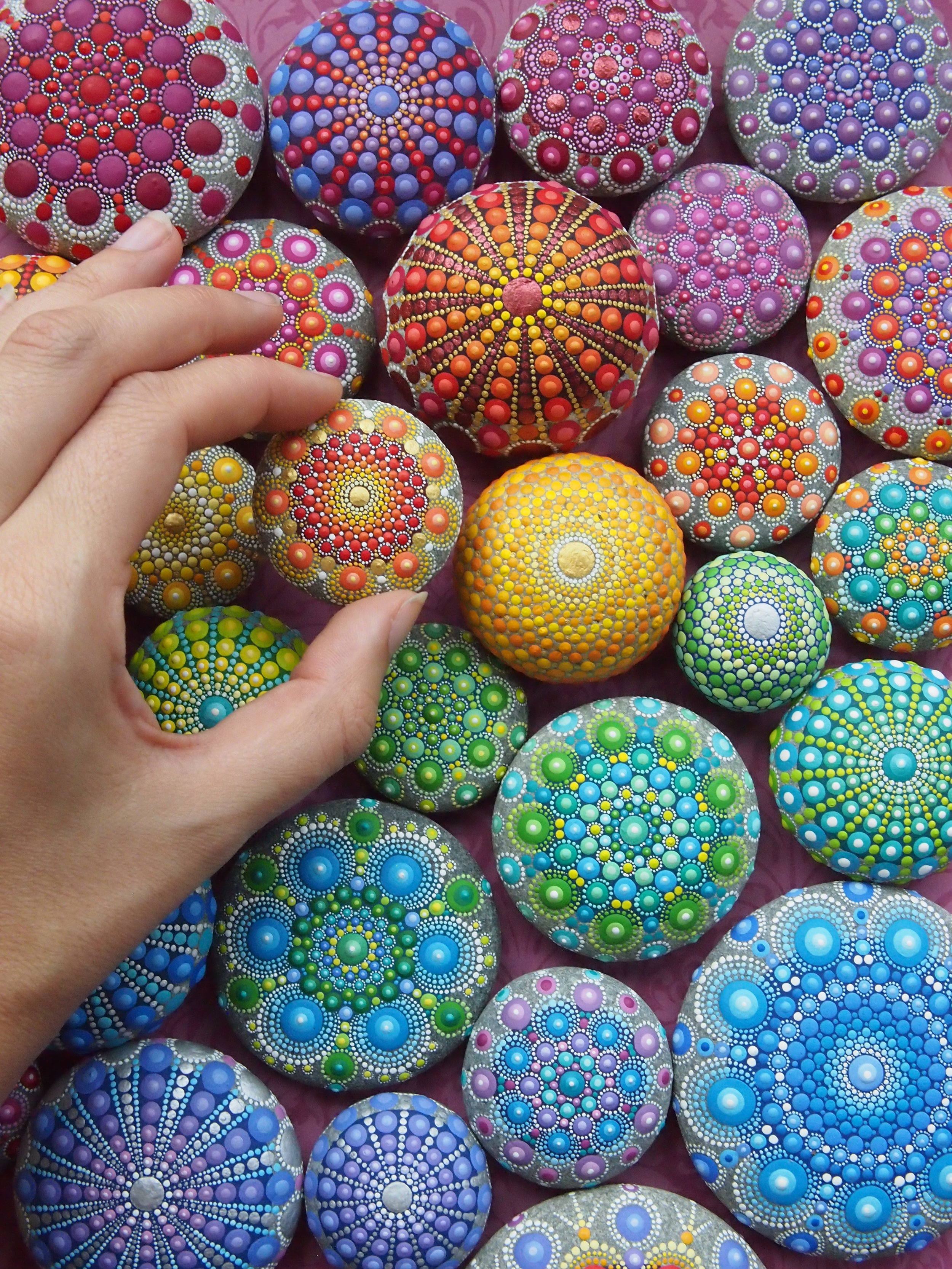 Mandala Stone   Elspeth Mclean