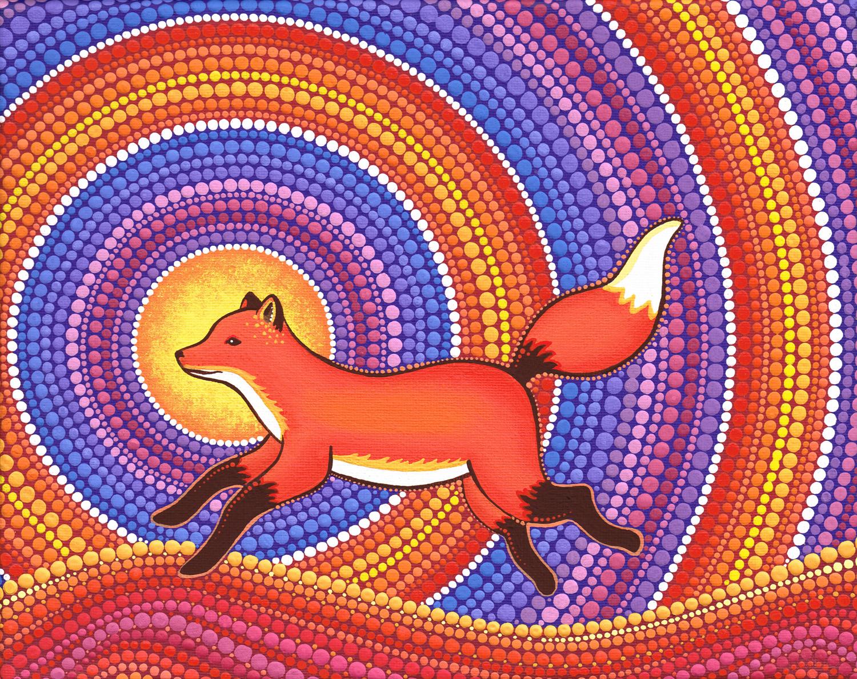 Friendly Fearless Fox
