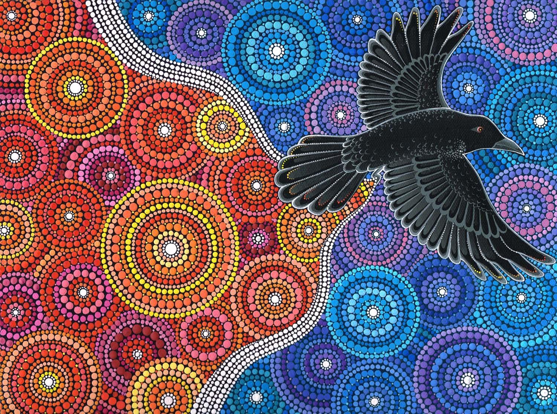 Raven Bringing in the Light