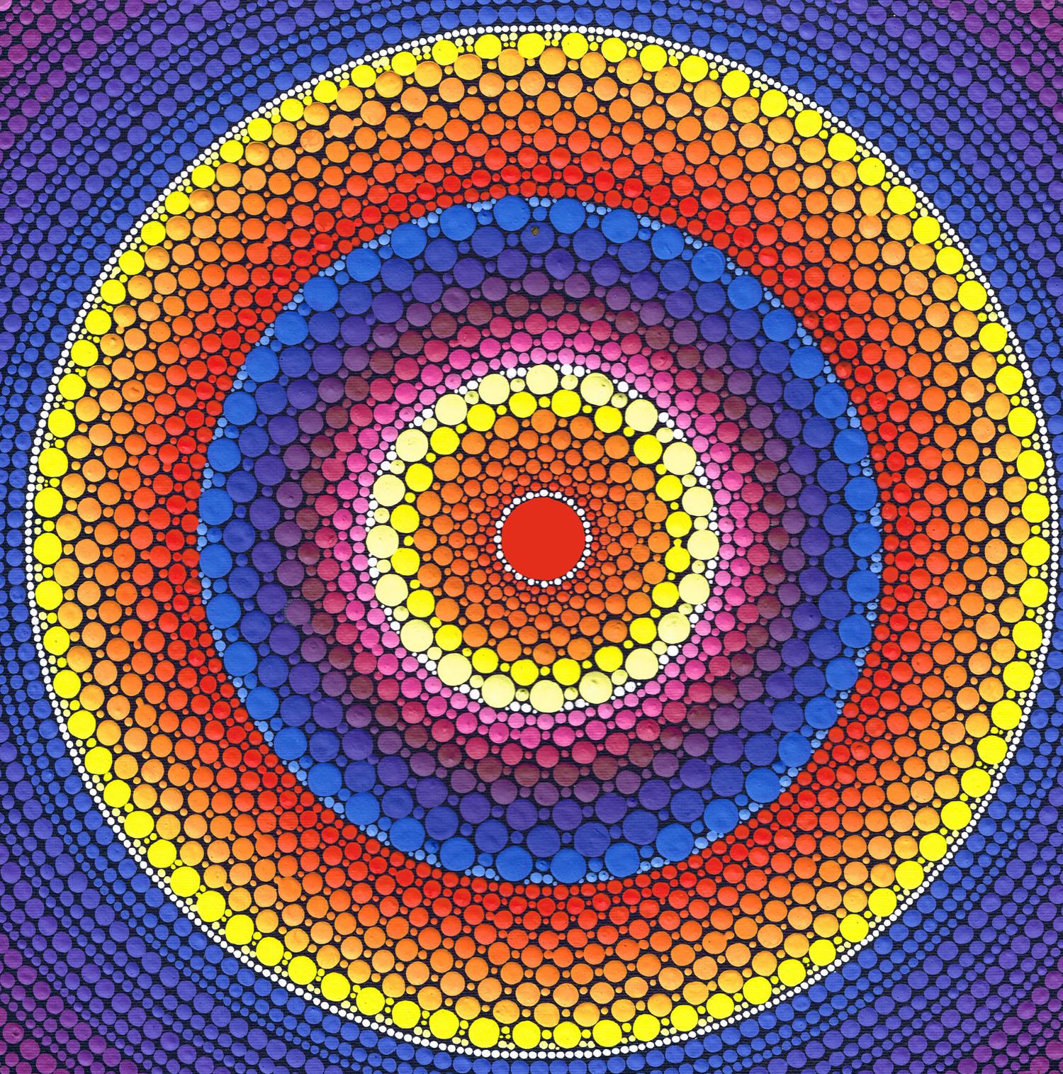 Phoenix Fire Mandala