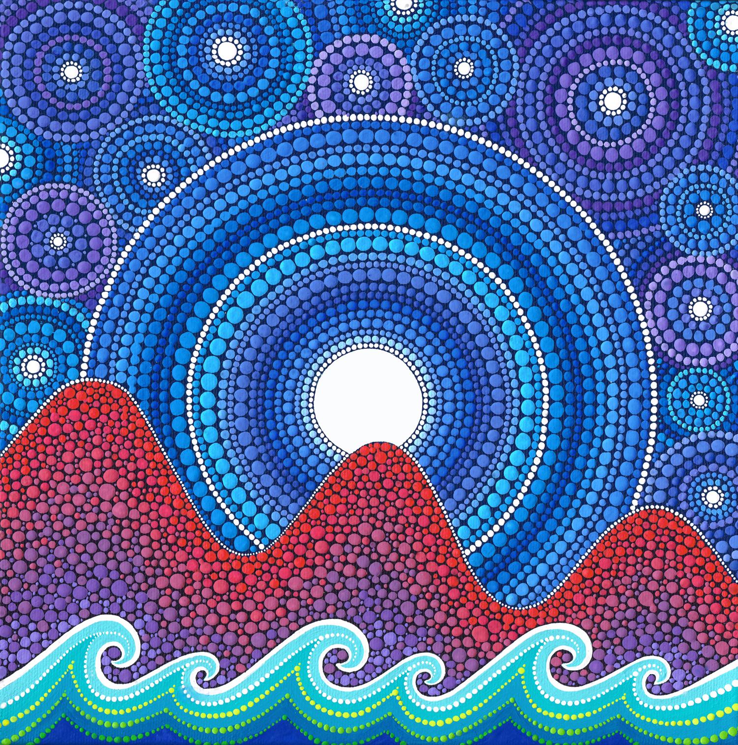 3 Mountain Moon