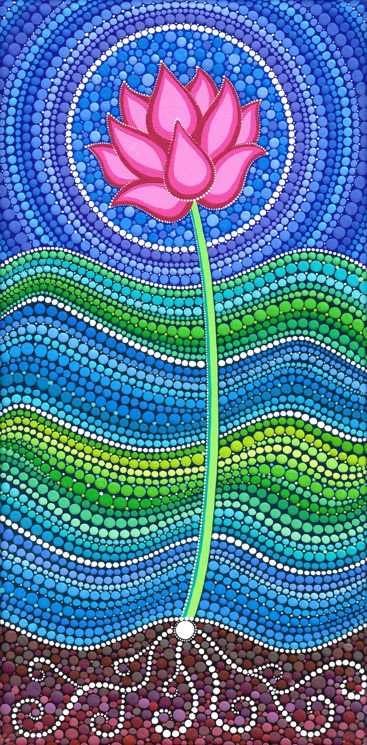 Lotus Growing