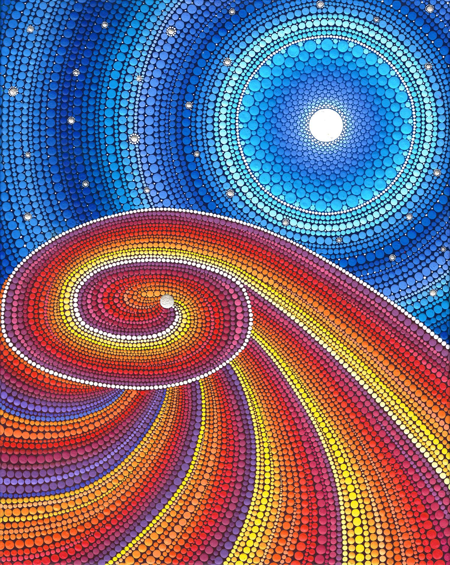 Nature Desert Swirl