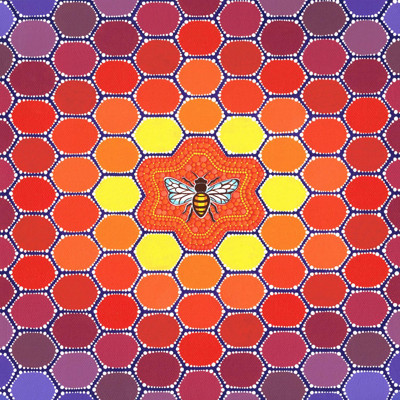 Bee Sacred Geometry