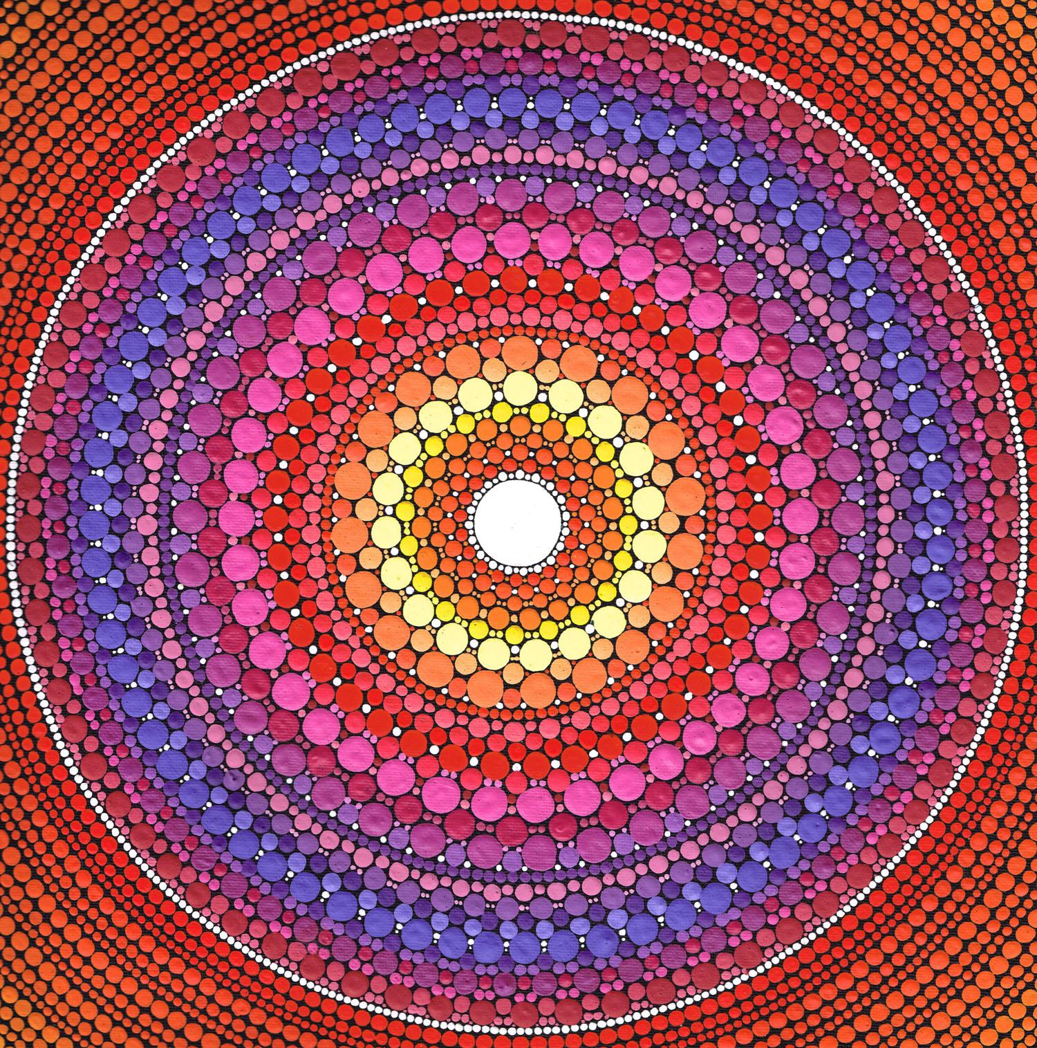 Fire Heart Mandala