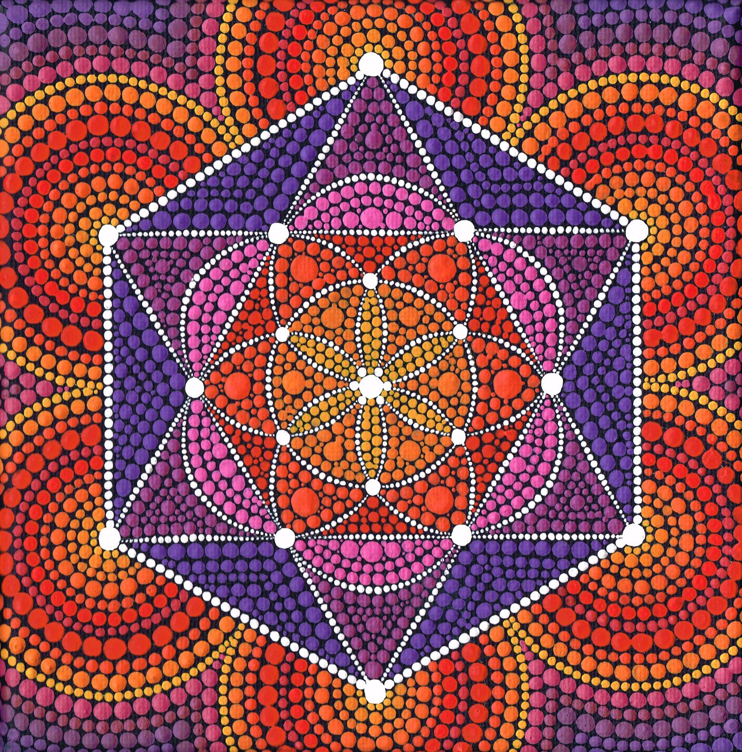 Fire Star Genesis Pattern