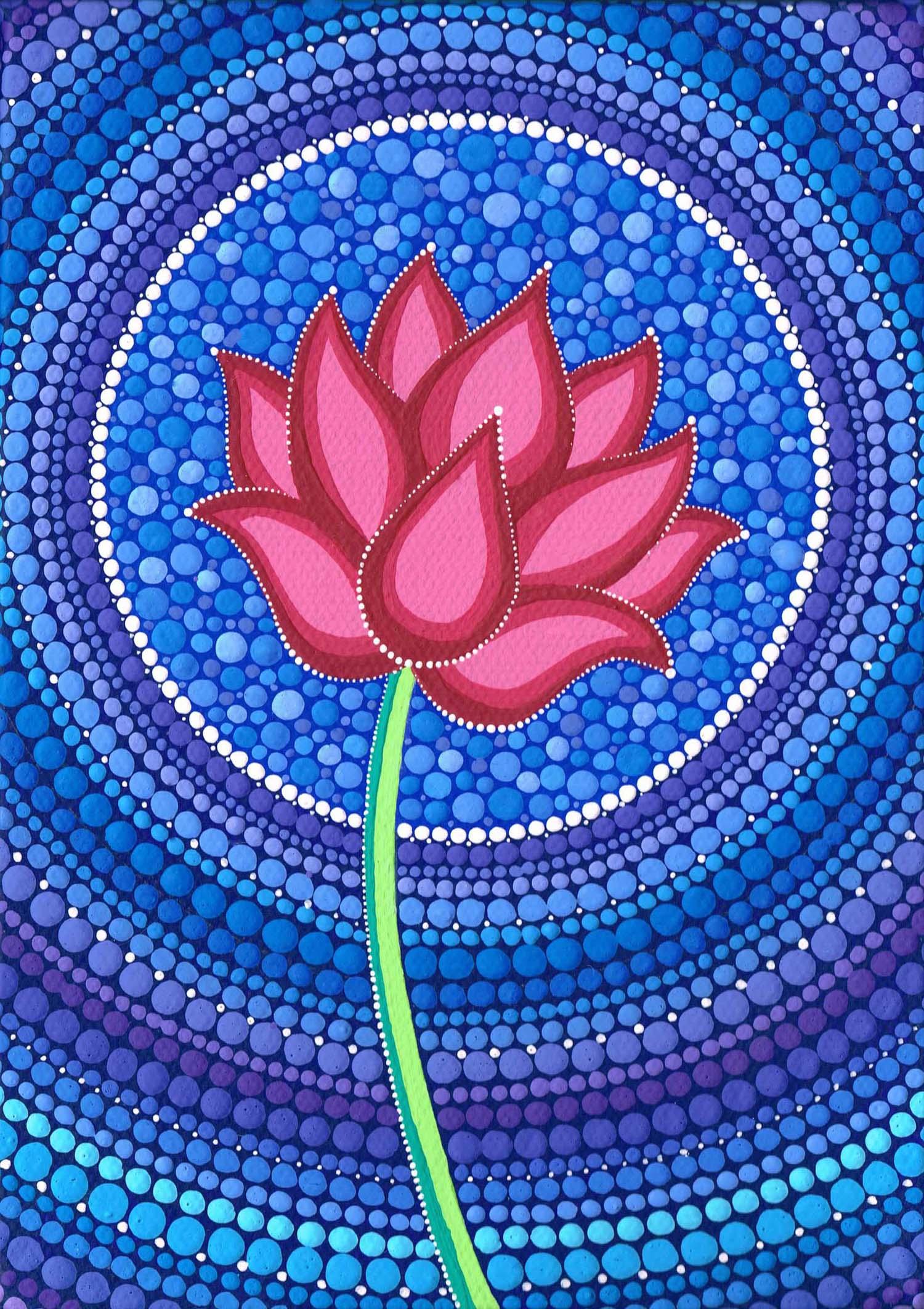 Splendid Lotus Flower