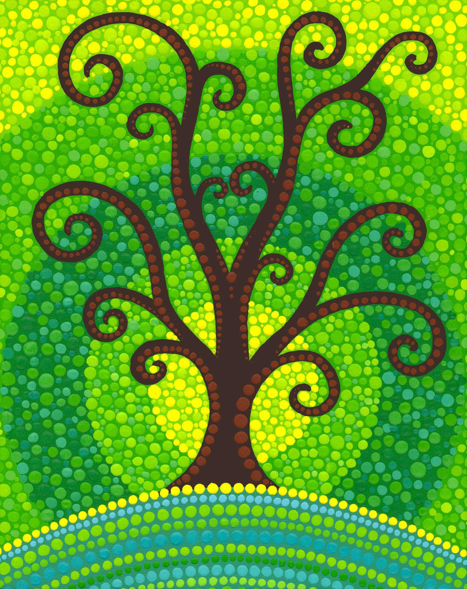Unfurling Tree