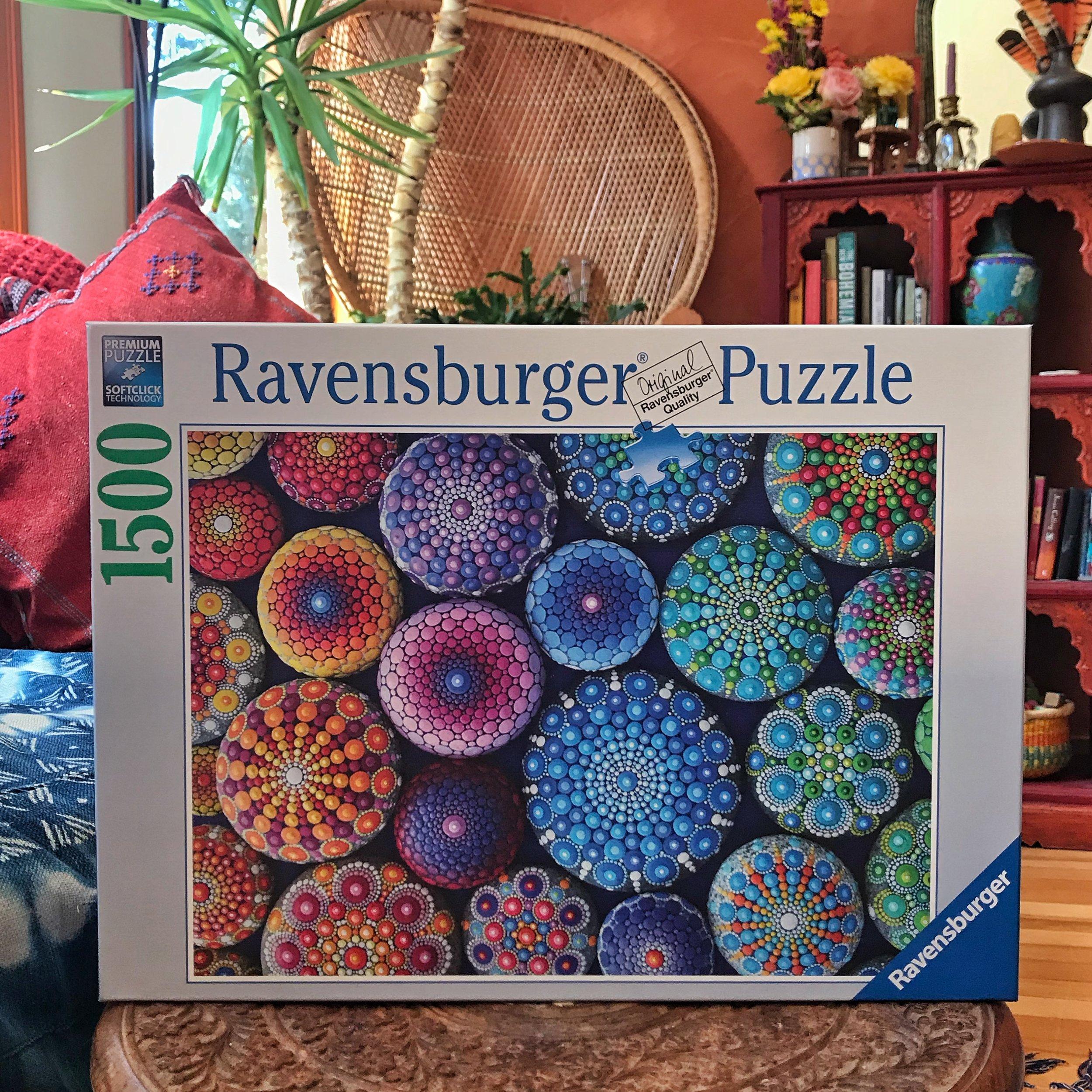 My Ravensburger Puzzle Colourful Artistry Mandala Stones Elspeth Mclean