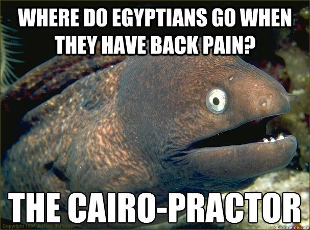 Here is a back pain meme to lighten the mood.