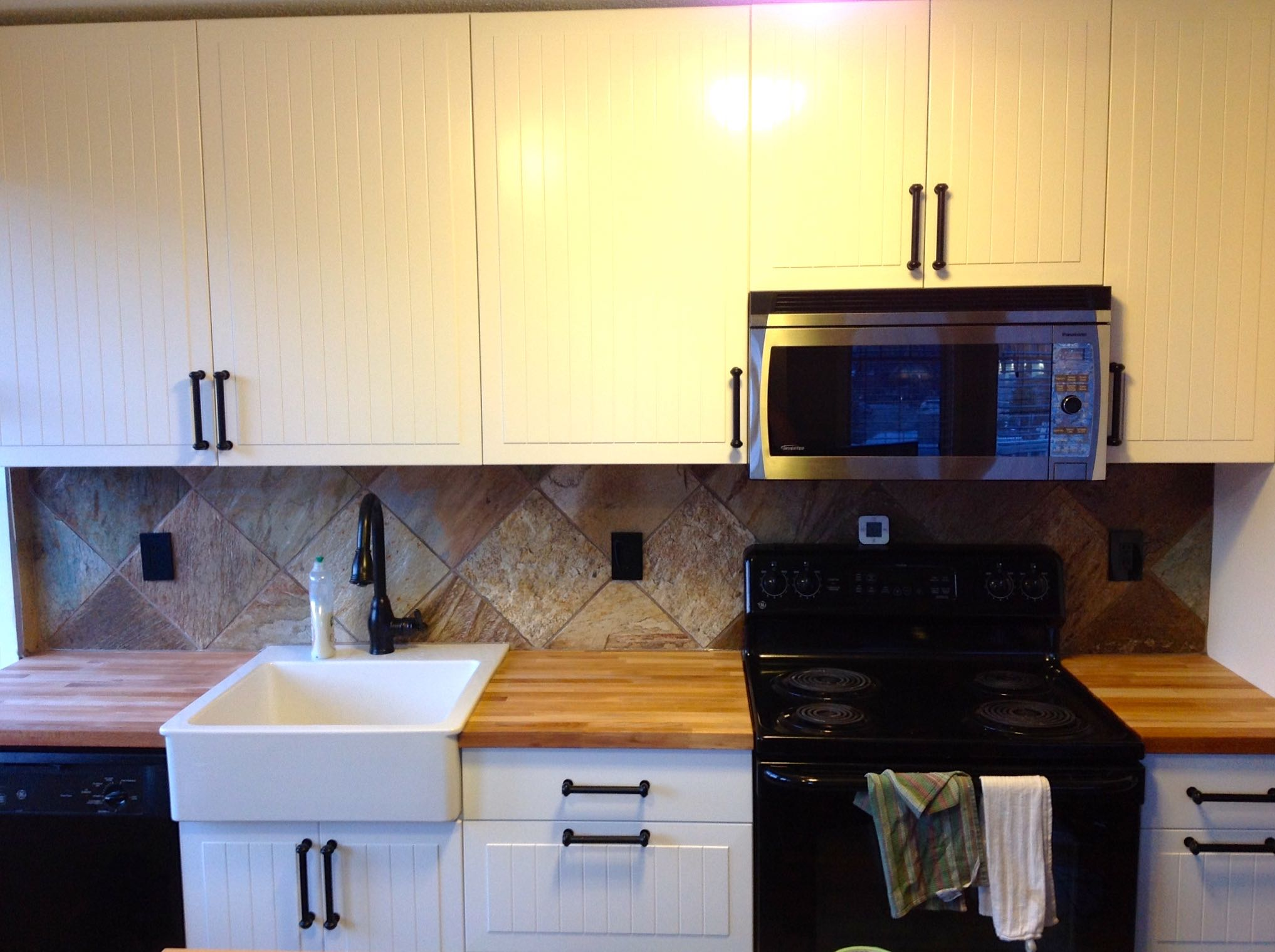 Kitchen renovations in Kimberley, BC.