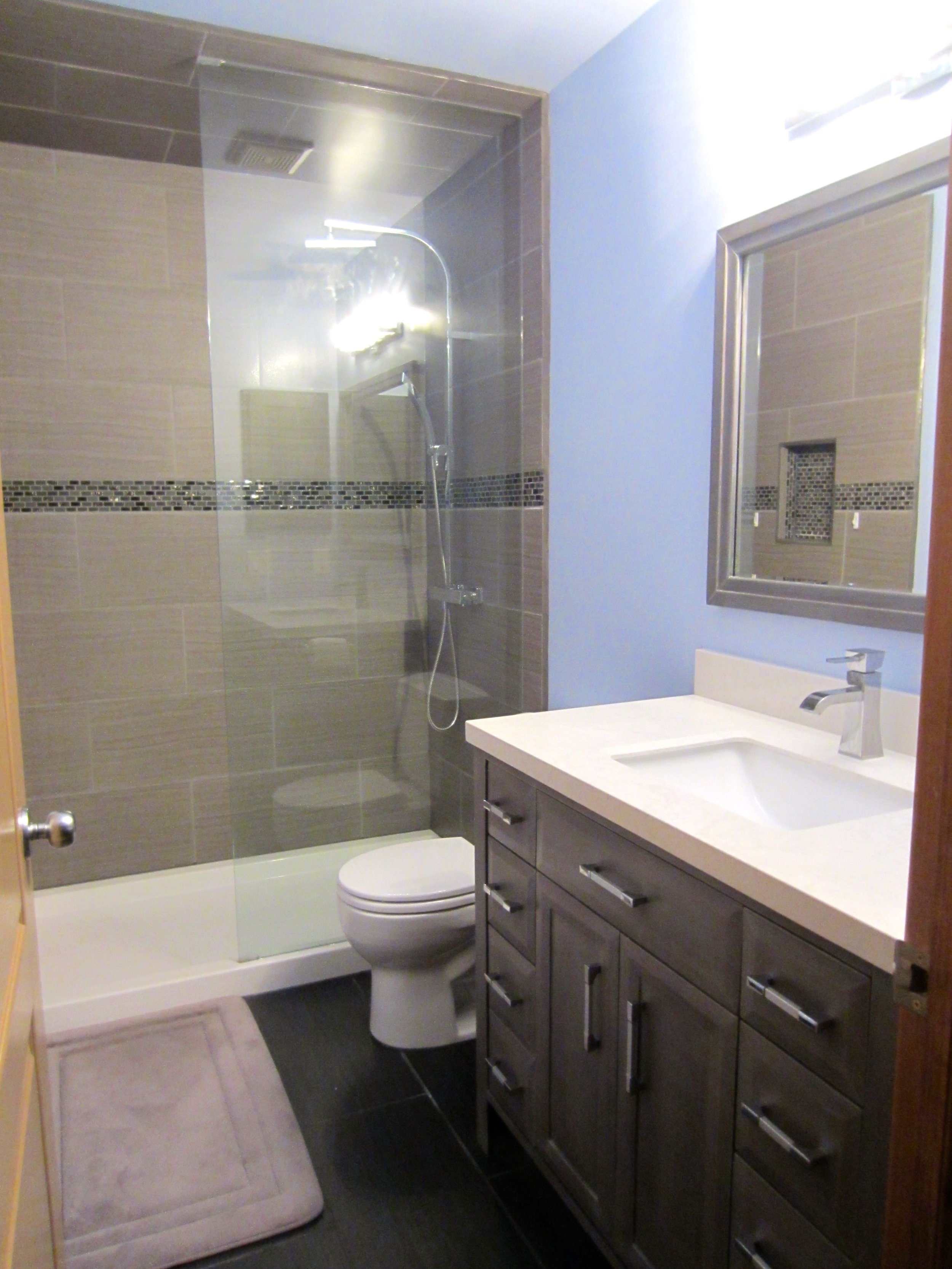 Bathroom renovations in Kimberley, BC.