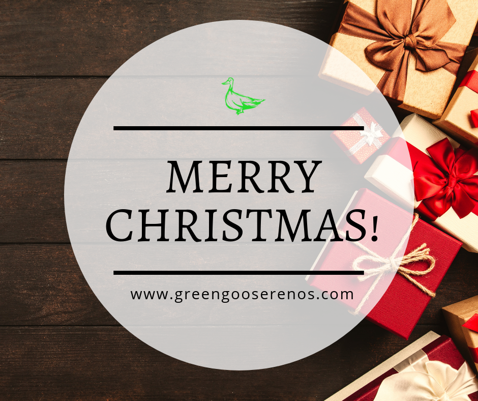 Merry Christmas from Green Goose Renos!