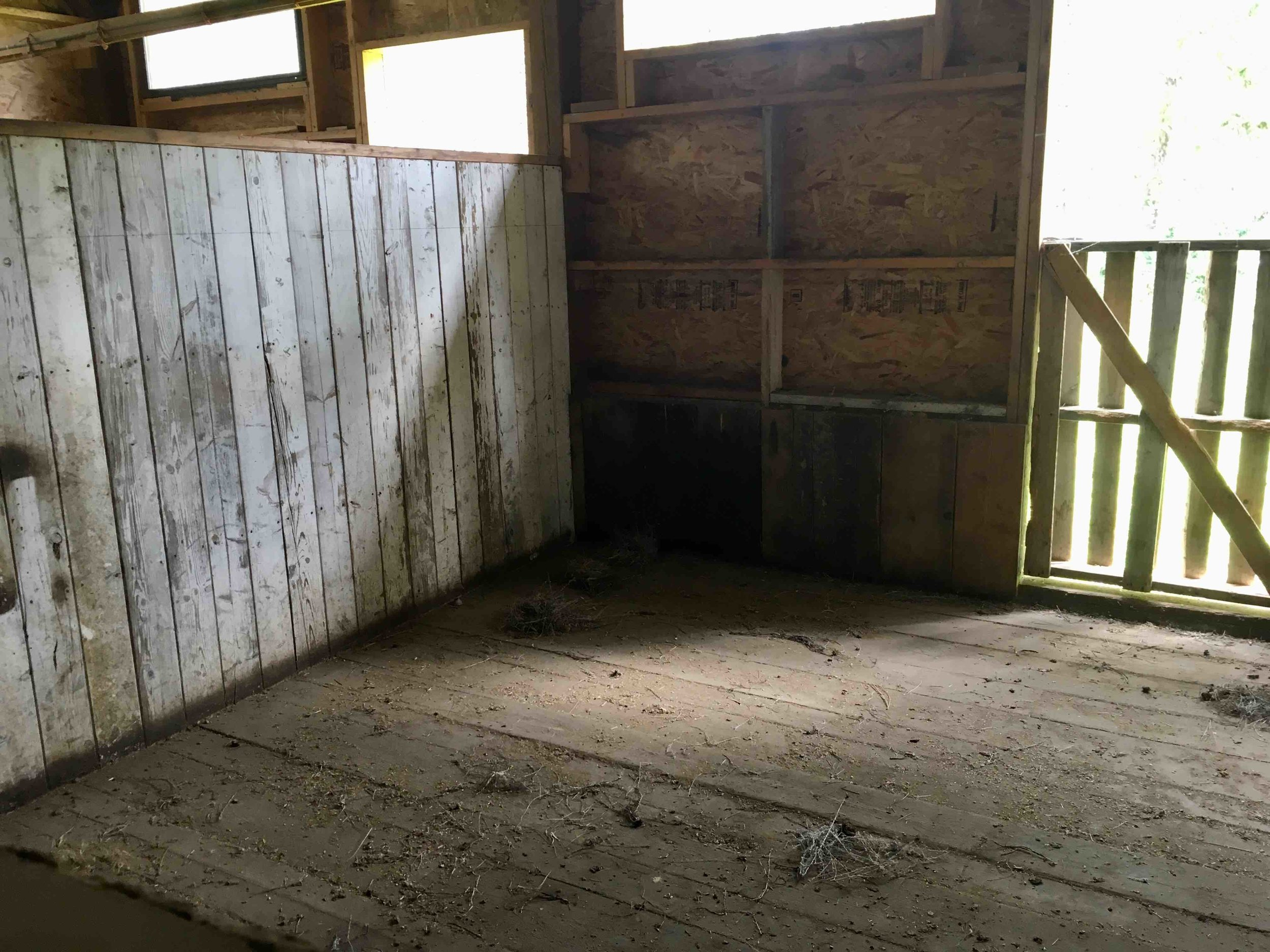 One of the five horse stables. Anyone want to board their horse here?