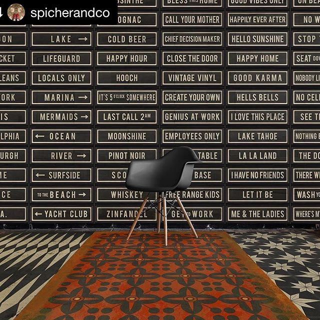 #Repost @spicherandco ・・・ Contact me for your local representative • Spicher and Company • With our #customized #streetsigns the possibilities are endless!  #spicherandco #vintagevinyl #walldecor #exclusiveart #typography #wordart #wordsofwisdom #floorcloths and #framedart • #spicherandcompany #floormat #floorcovering #ihavethisthingwithfloors #sodomino #eclecticdecor #homedecor #interiordesign #interiordesigner #eventstyling #commercialdesign #hospitalitydesign #homestaging #california #losangeles #sandiego #santabarbara #orangecounty