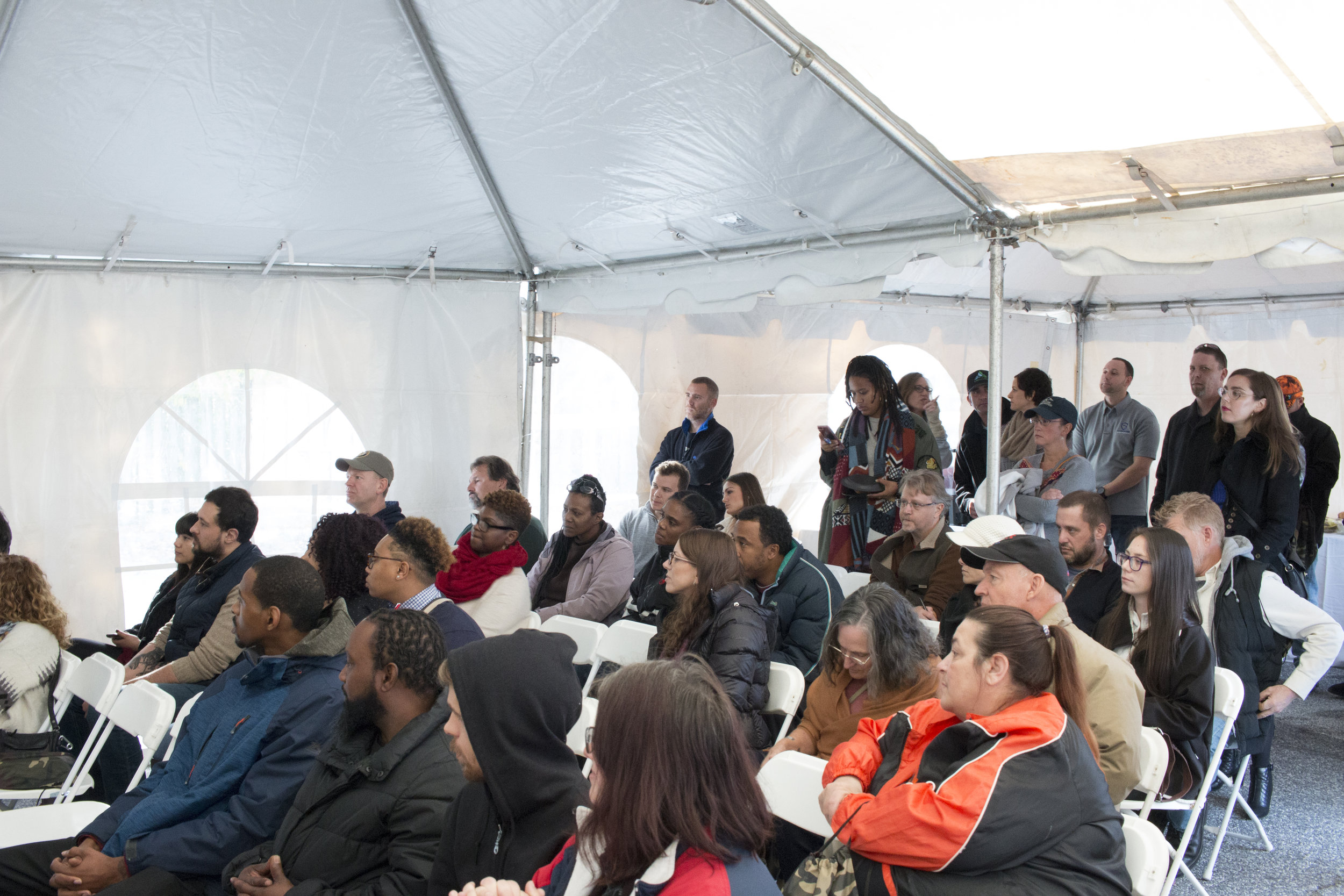 Attendees learn how medical cannabis is grown, processed, tested and dispensed.