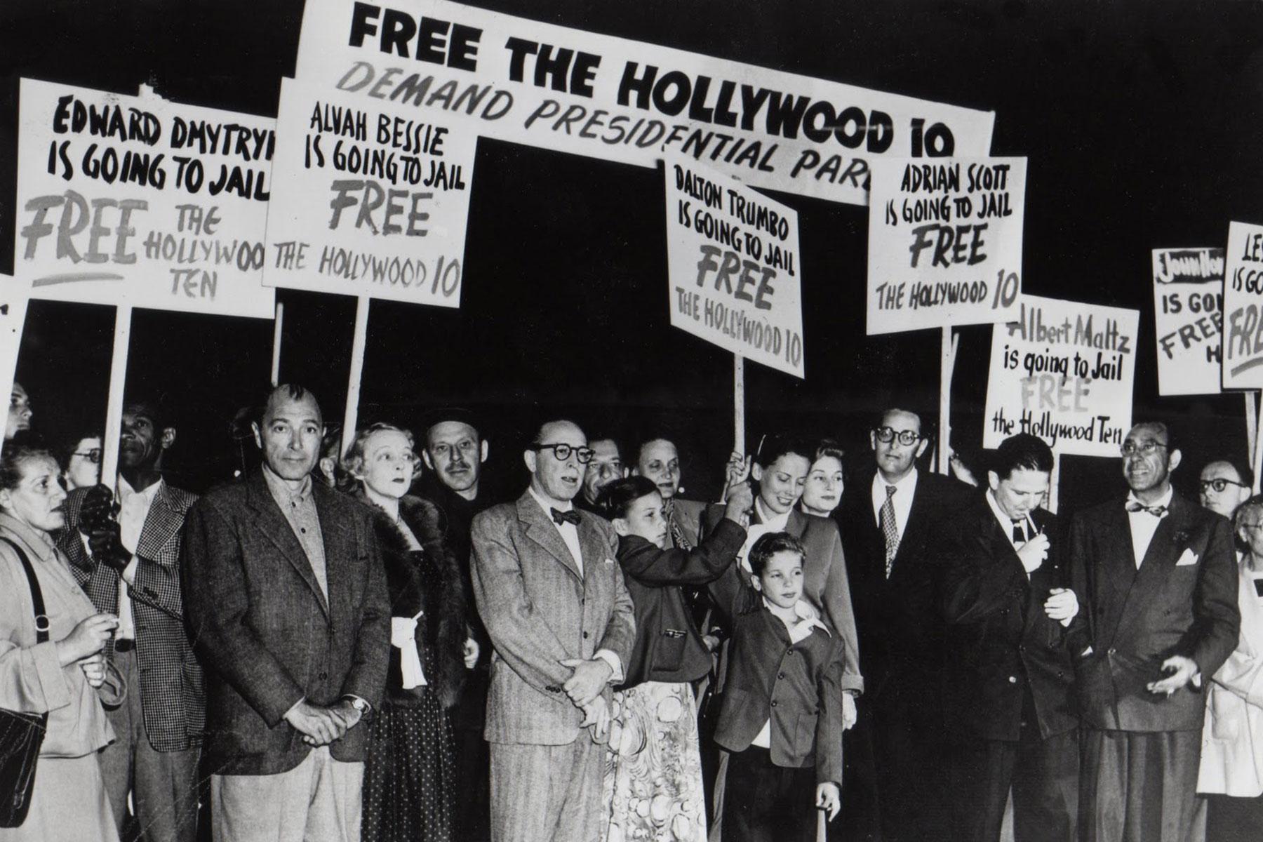 Hollywood Ten Protest.jpg