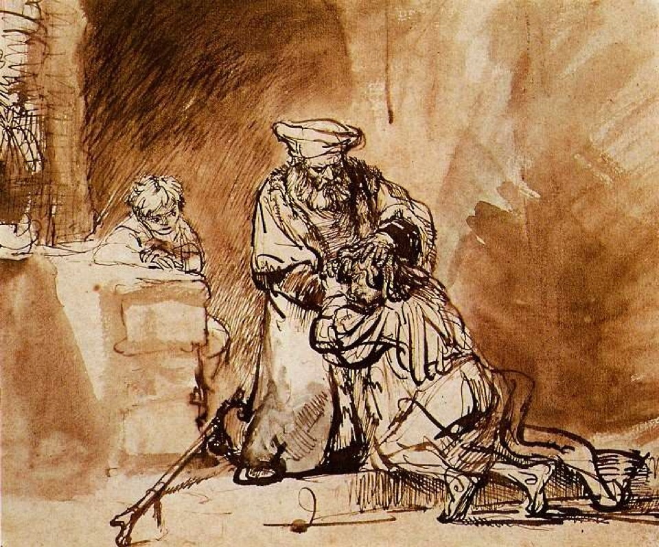 Return of the Prodigal Son  (Rembrandt, 1642)