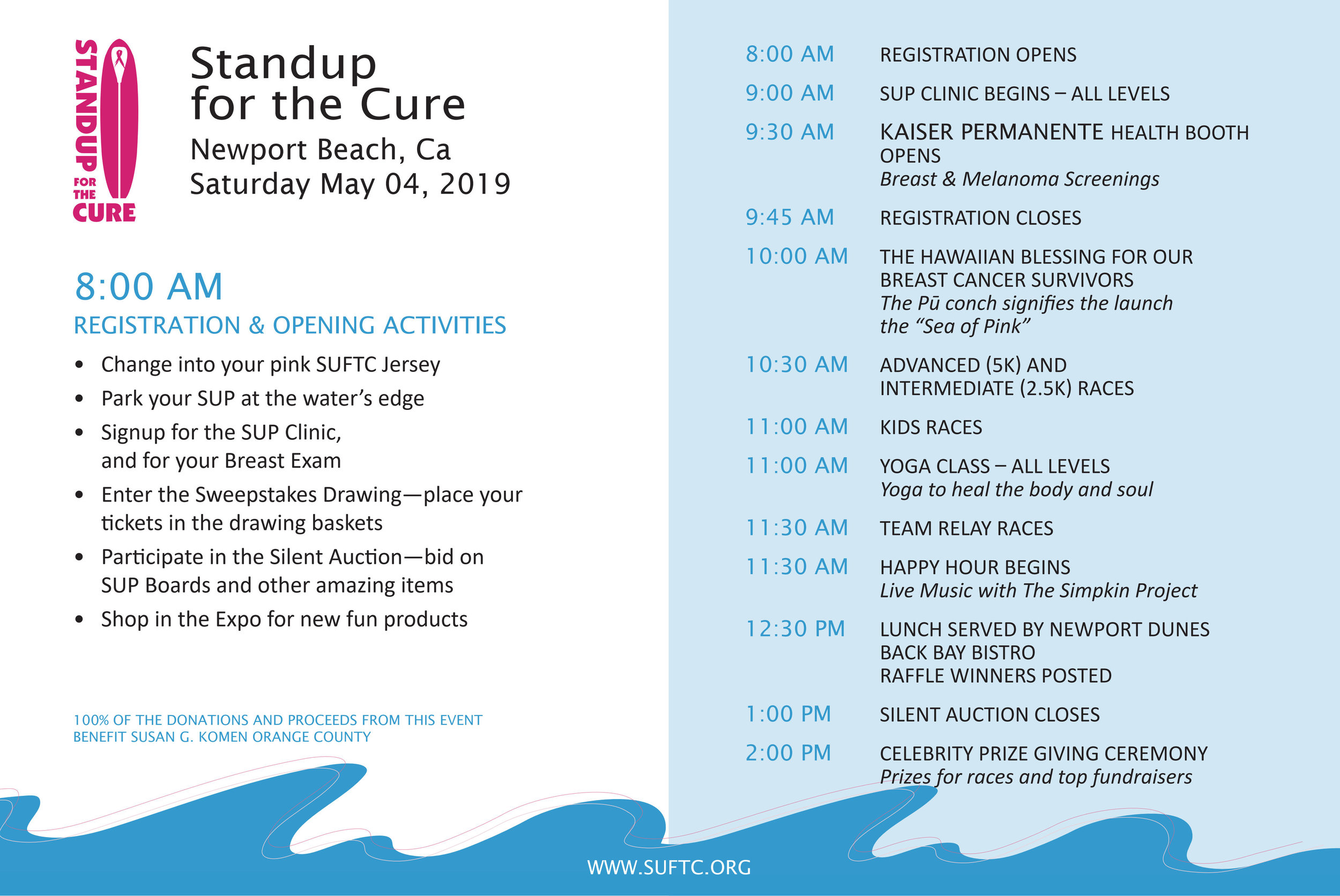Standup Newport Beach 2019 — Standup for the Cure